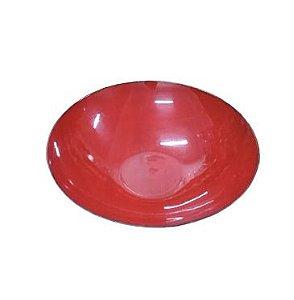 Fruteira redonda melamina vermelha P