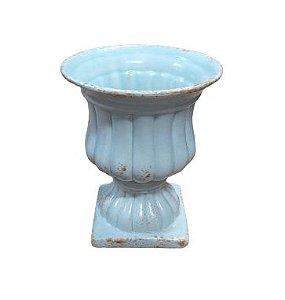 vaso anfora ocean azul G