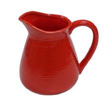 Jarra ceramica vermelha G