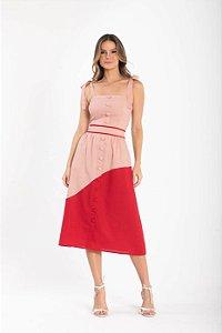 Vestido Midi Teresa - ROSE