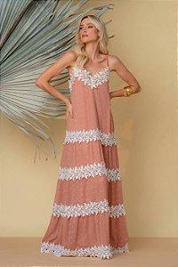 Vestido Longo Hera - ROSE
