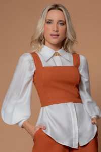 CROPPED HELENA - COGNAC