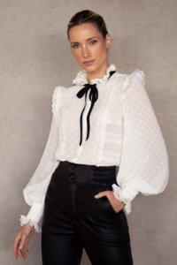 CAMISA ESTHER - OFF WHITE
