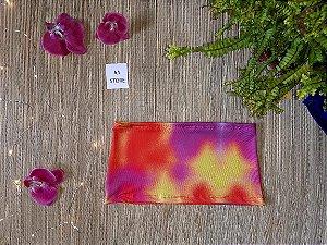 Top faixa tie dye