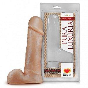 Pênis Realístico com Escroto 18cm PA020