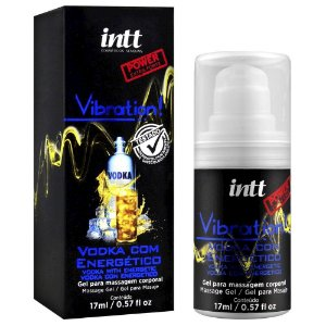 Gel Excitante Vibration Power Vodka com Energético 17ml
