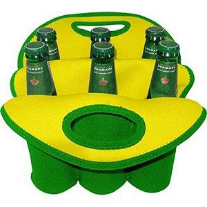 Cooler para 6 Long Necks Brasil