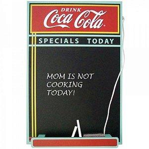 Quadro Lousa Decorativa Coca-Cola