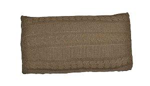 Almofada 30x60 Tricot Tranças