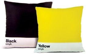 Almofada Yellow Black