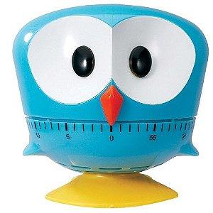 Timer de Cozinha Bird Azul