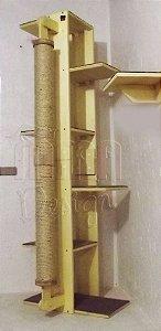 Torre De Prateleiras Com Arranhador