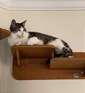 Prateleira Dupla Para Gato