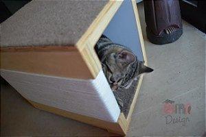 Nicho Toca Descanso Para Gato com arranhador