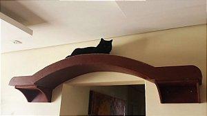 Arco Rampa Para Porta e Janela Para Gatos