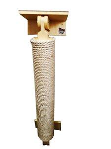 Arranhador Pole com Prateleira e conector para Gatos