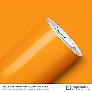 Adesivo Color MAX Amarelo Ouro  (Largura 1m) - VENDA POR METRO