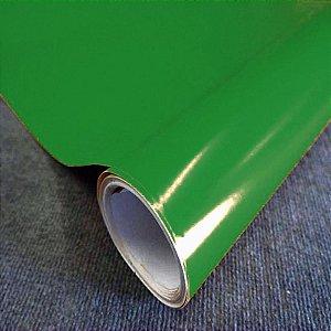Adesivo Color - VERDE BANDEIRA (Largura 1metro) - VENDA POR METRO