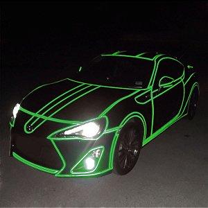 Adesivo Refletivo Verde (Largura 100cm) - VENDA POR METRO