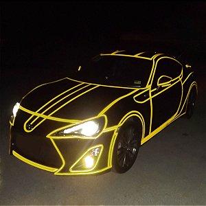 Adesivo Refletivo Amarelo (Largura 61cm)