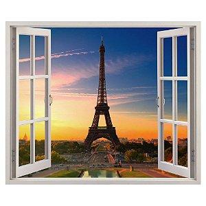 Adesivo Janela - Paris City of Love
