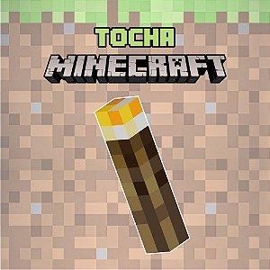 Adesivo Minecraft - Tocha