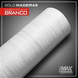 Adesivo Gold Madeira Carvalho Branco  (Largura 21cm)