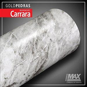 Adesivo Gold Pedras Mármore Carrara (Largura 1metro) - VENDA POR METRO