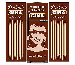Adesivo de Geladeira Gina - KIT COMPLETO