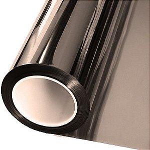 Adesivo Cromado Metálico Fumê Titanium (Largura 1,06m) - VENDA POR METRO