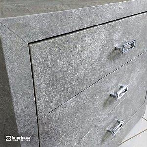 Adesivo Cimento Queimado (Largura 1,22m) - VENDA POR METRO