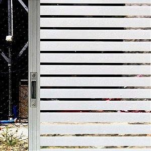 Adesivo Jateado Decorativo PERSIANA - 60cm x 1metro