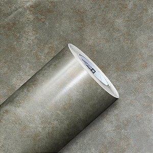 Adesivo Gold Metal Aço Corten COBRE (Largura 1,22m) - VENDA POR METRO