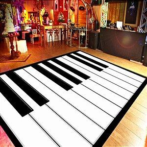 Adesivo Pista de Dança PIANO - 2M X 1,20M