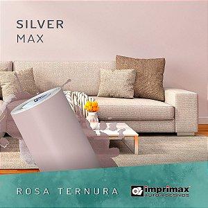 Adesivo MAX Silver Rosa Ternura (Largura 1,22m)