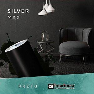 Adesivo Silver MAX Preto Fosco (Largura 1,22m) - VENDA POR METRO