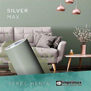 Adesivo Silver MAX Verde Menta (Largura 1,22m) - VENDA POR METRO