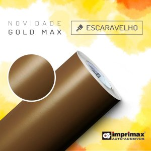 Adesivo Gold MAX Escaravelho (Largura 1,22m) - VENDA POR METRO