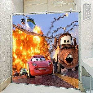 Adesivo Box - Carros McQueen e Mate