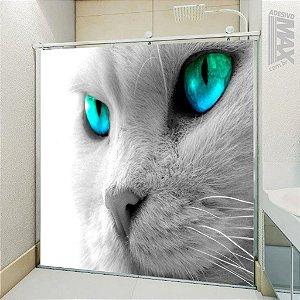 Adesivo Box - Gato Branco