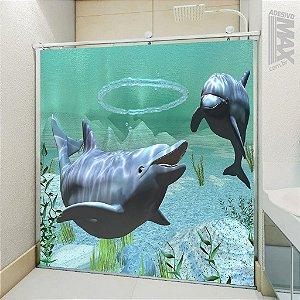 Adesivo Box - Golfinhos Exibidos