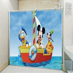 Adesivo Box - Mickey Pato Donald e Pateta