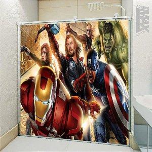 Adesivo Box - Avengers Vingadores