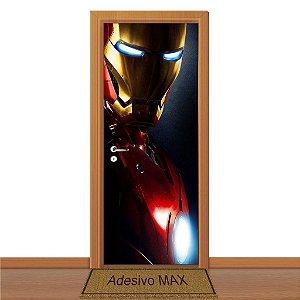 Adesivo de Porta - Homem de Ferro 2