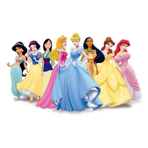 Adesivo Recortado - Princesas