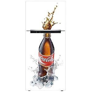 Adesivo de Geladeira Coca Cola