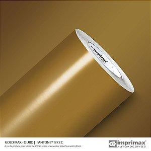 Adesivo Gold MAX Ouro (Largura 1,22m) - VENDA POR METRO
