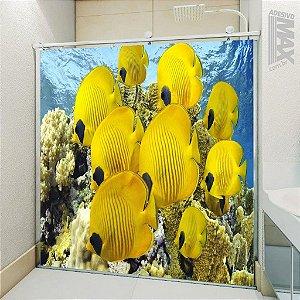 Adesivo Box - Peixes Amarelos