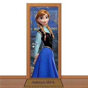 Adesivo de Porta - Frozen Anna 2