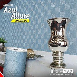 Adesivo Gold Firenze - Azul Allure (Largura 1,22m) - VENDA POR METRO